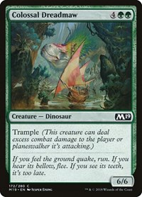 Colossal Dreadmaw, Magic: The Gathering, Core Set 2019