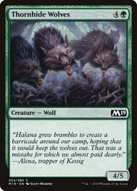 Thornhide Wolves, Magic: The Gathering, Core Set 2019