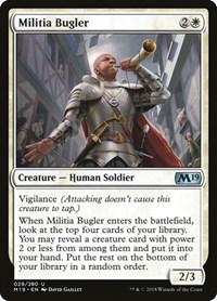 Militia Bugler, Magic, Core Set 2019