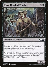 Two-Headed Zombie, Magic: The Gathering, Core Set 2019