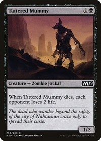 Tattered Mummy, Magic: The Gathering, Core Set 2019