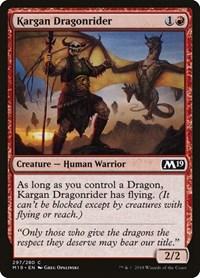 Kargan Dragonrider, Magic: The Gathering, Core Set 2019