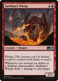 Sarkhan's Whelp, Magic: The Gathering, Core Set 2019