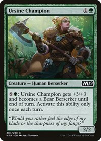 Ursine Champion, Magic: The Gathering, Core Set 2019