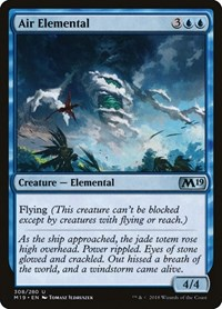 Air Elemental, Magic, Core Set 2019