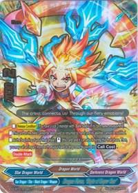 FUTURE CARD BUDDYFIGHT RED THUNDER EMPEROR/'S AWAKENING X-CBT-A//0001EN RRR