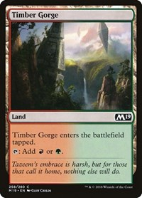 Timber Gorge, Magic: The Gathering, Core Set 2019