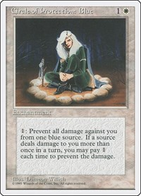 Circle of Protection: Blue, Magic: The Gathering, Fourth Edition