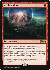 Alpine Moon, Magic: The Gathering, Core Set 2019