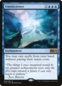 Omniscience, Magic: The Gathering, Core Set 2019