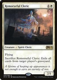 Remorseful Cleric, Magic: The Gathering, Core Set 2019