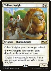 Valiant Knight, Magic: The Gathering, Core Set 2019