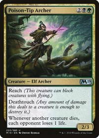 Poison-Tip Archer, Magic, Core Set 2019