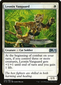 Leonin Vanguard, Magic, Core Set 2019