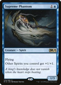 Supreme Phantom, Magic: The Gathering, Core Set 2019