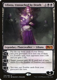 Liliana, Untouched by Death, Magic: The Gathering, Core Set 2019