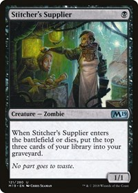 Stitcher's Supplier, Magic, Core Set 2019