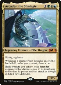 Arcades, the Strategist (Foil)