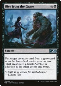 Rise from the Grave, Magic: The Gathering, Core Set 2019