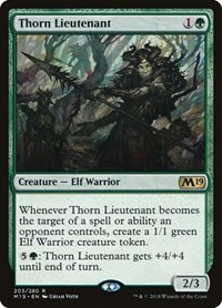 Thorn Lieutenant, Magic: The Gathering, Core Set 2019