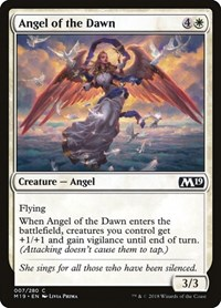 Angel of the Dawn, Magic: The Gathering, Core Set 2019