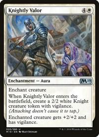 Knightly Valor, Magic, Core Set 2019