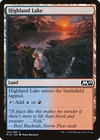 Highland Lake, Magic: The Gathering, Core Set 2019
