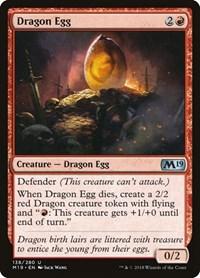Dragon Egg, Magic: The Gathering, Core Set 2019