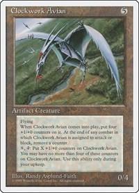 Clockwork Avian, Magic: The Gathering, Fourth Edition