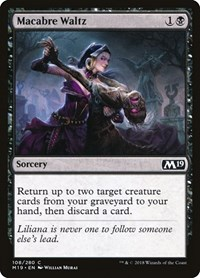 Macabre Waltz, Magic: The Gathering, Core Set 2019