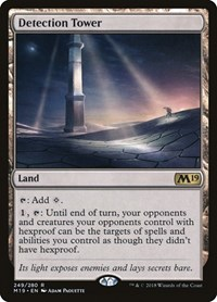Detection Tower, Magic: The Gathering, Core Set 2019