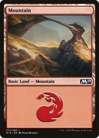 Mountain (273), Magic: The Gathering, Core Set 2019
