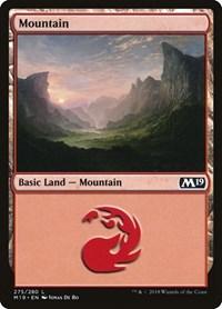 Mountain (275), Magic: The Gathering, Core Set 2019