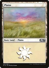 Plains (263), Magic: The Gathering, Core Set 2019