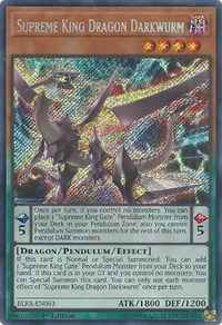 Supreme King Dragon Darkwurm, YuGiOh, Battles of Legend: Relentless Revenge