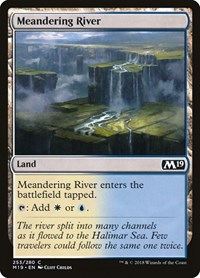 Meandering River, Magic: The Gathering, Core Set 2019