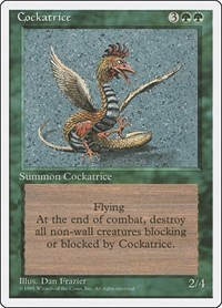 Cockatrice, Magic: The Gathering, Fourth Edition