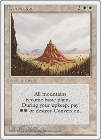 Conversion, Magic: The Gathering, Fourth Edition