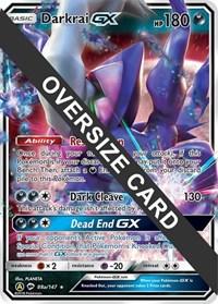 Darkrai GX - 88a (Burning Shadows), Pokemon, Jumbo Cards