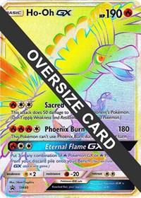 Ho-Oh GX - SM80 (SM Black Star Promo), Pokemon, Jumbo Cards