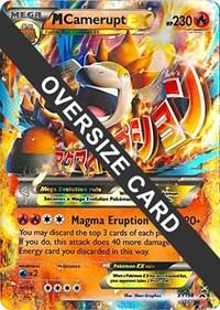 M Camerupt EX - XY198 (XY Black Star Promos), Pokemon, Jumbo Cards