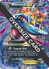M Sharpedo EX - XY200 (XY Black Star Promo), Pokemon, Jumbo Cards