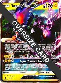 Tapu Koko GX - SM50 (SM Black Star Promo), Pokemon, Jumbo Cards