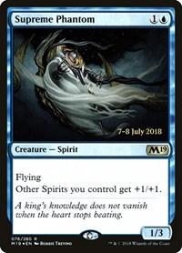 Supreme Phantom, Magic: The Gathering, Prerelease Cards