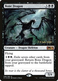 Bone Dragon, Magic: The Gathering, Prerelease Cards