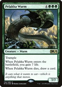 Pelakka Wurm, Magic: The Gathering, Prerelease Cards