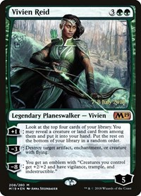 Vivien Reid, Magic, Prerelease Cards