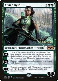 Vivien Reid, Magic: The Gathering, Prerelease Cards