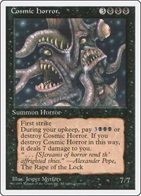 Cosmic Horror, Magic: The Gathering, Fourth Edition