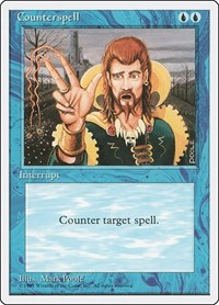 Counterspell, Magic: The Gathering, Fourth Edition